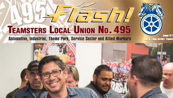 Teamsters Local 495, West Covina | California Labor Union